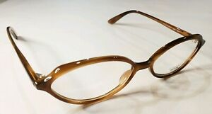 Oliver Peoples Larue SYC SA Eyeglasses Orange Brown 52-16-140 Made in Japan