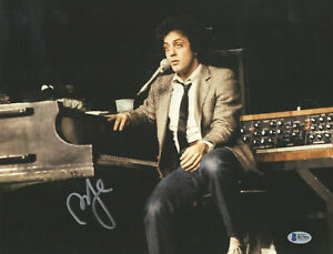BILLY JOEL SIGNED AUTOGRAPH 11X14 PHOTO BECKETT BAS COA AUTHENTIC 18 PIANO MAN