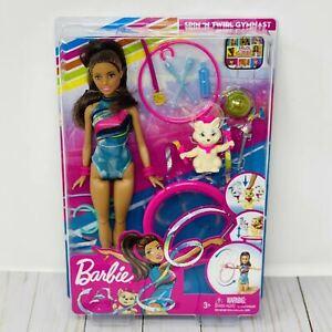 Barbie Dreamhouse Adventures Teresa Spin 'n Twirl Gymnast Doll And Pet Playset!