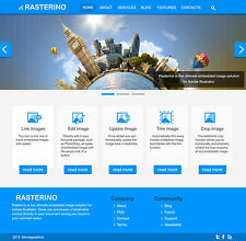 Responsive Website Design with Free Hosting for 1 year