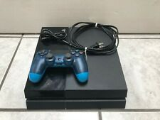 Sony PlayStation 4 PS4 500GB WITH Controller And Cables Jet Black Console