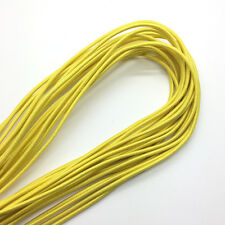 5yds Yellow Trong Elastic Bungee Rope Shock Cord Tie Down DIY Jewelry Making