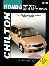SHOP MANUAL ODYSSEY SERVICE REPAIR HONDA BOOK CHILTON HAYNES