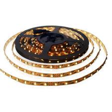 SET: LED Strip Leiste Band SMD Streifen Warmweiss 5 Meter inkl. Netzteil