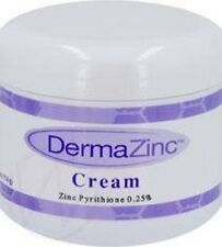 4oz Dermazinc Cream Eczema Psoriasis Dermatitis Treatment .25% Zinc Pyrithione