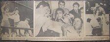 Dec. 8, 1970 Boston Newspaper Photo Clipping - Muhammad Ali vs. Oscar Bonavena