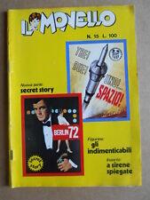 IL MONELLO n°15 1972 Cristall Pedrito + poster caricatura Furino & BONI [G392]