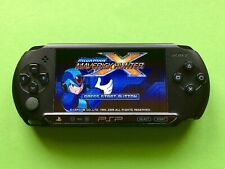 SONY PlayStation Portable PSP Konsole PIANO Black E 1004 Matt ovp SLIM MegaMan X