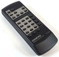 Onkyo RC-402C CD Player Audio System Remote Control Original Genuine 058FA