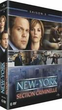 LAW AND ORDER CRIMINAL INTENT COMPLETE SERIES 3 DVD Third 3rd Season Three R2