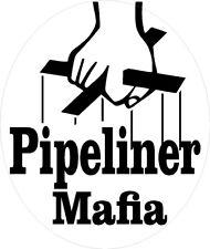 Pipeliner superman hard hat sticker CPL-8