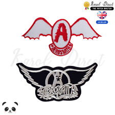 AeroSmith Music Band Embroidered Iron on /Sew on Patch Badge For Clothes etc