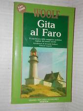 GITA AL FARO Virginia Woolf Newton Grandi tascabili economici 1993 romanzo libro