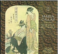Puccini: Madama Butterfly / Karajan, Callas, Gedda - LP Emi Angel EX / NM