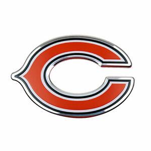 Chicago Bears Metal Die Cut Auto Emblem Decal Sticker NFL
