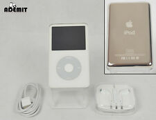 Apple iPod Classic 5th (5.5th) Generation White (30 GB) - ENHANCED (mint)