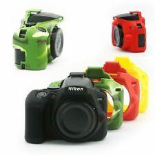 Soft Silicone Camera Case Body Cover Rubber Skin Bag for Nikon D3500 Camera New