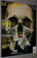 MODERN PAINTERS Magazine, DAMIEN HIRST, Lisa Yuskavage, Caravaggio