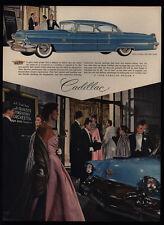 1956 CADILLAC Sixty Special Luxury Car - San Francisco Symphony - VINTAGE AD