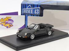 Autocult Avenue 43 60031 # Porsche 911 (964) Turbo Cabrio Bj. 1993 schwarz 1:43