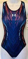 UNDER ARMOUR TANK ADULT X-SMALL MOTIVATE SLEEK HOLOTEK GK GYMNASTIC LEOTARD AXS