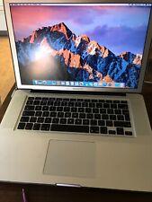 Apple MacBook Pro Laptop 2.66 ghz, 8gb RAM, 512 GB, mid-2010, aluminium
