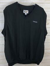 Golfsmith Snake Eyes Apparel Mens Golf Vest Large V-Neck Pullover Shirt Jacket