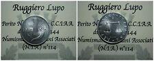 Repubblica Italiana 1 Lira Cornucopia 1954 UNC/FDC PERIZIATO