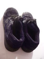 Patrick Cox Womens Black Furry Shoes Boots Lace-Up Size UK 4 EUR 37
