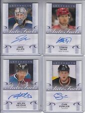 14/15 UD Artifacts Colorado Avalanche Milan Hejduk Auto Facts card #A-MH