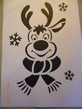 Schablone Rudolph auf A4