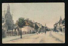 Somerset CHARD street scene used c1900s PPC Faults by R Wilkinson Trowbridge