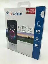 Brand New & Sealed - US Cellular LG K8+ 16GB Prepaid Smartphone, Black Free Ship