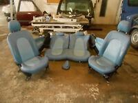 Ford Ka Bj 1996-2008 Lederausstattung Fahrersitz Sitze Türverkleidung Schaltsack