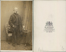 Verveer, La Haye, Charles Rochussen, peintre CDV, vintage albumen carte de visit