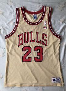 Vintage Michael Jordan Gold Champion Jersey #michaeljordan #championjersey