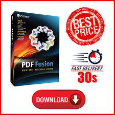 Corel PDF Fusion Editor Creator DOC TIF AI JPG PNG PSD WPD PPTX - Send Email 30s
