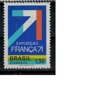 Brazilie mi 1291 (1971) plakker - mh - x