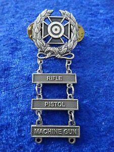 US Schießabzeichen matt Expert Rifle Pistol Machine-Gun