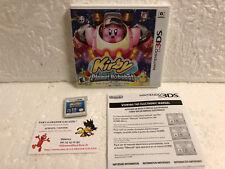 Jeu Vidéo Nintendo 3DS/2DS Kirby Planet Robobot HAL Laboratory Plateforme USA