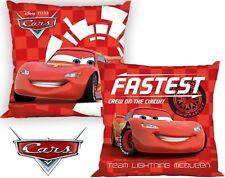 Disney Cars Pillow Snuggle Pillow Decor Pillow Red 40 x 40 cm