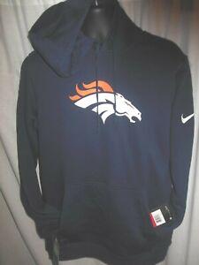 Denver Broncos NFL Men's Nike Hooded Pullover Sweatshirt Large