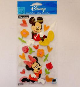 Jolee's Boutique Mickey and Minnie 3d Stickers - DJBM002 FREE POST