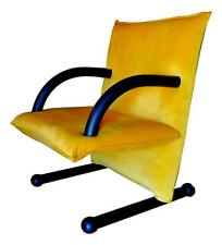 Armchair Arflex Model T-Line Design burkhard Vogtherr Years 80 Vintage - Yellow