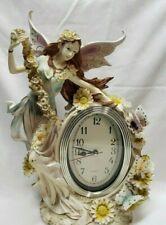 Ceramic Fairy Clock