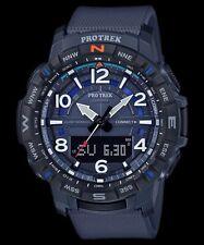 Casio Pro Trek Quad Sensor Bluetooth Connected Blue Resin Watch - PRT-B50-2