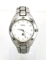 FOSSIL BLUE AM3252 Mens  Stainless Steel 100 Meter Water Resistant Watch Analog