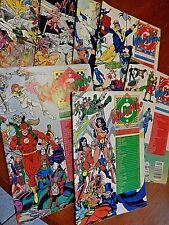 DC Comic books Who's Who  Lot of Seven 1985-1987