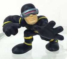 Marvel Super Hero Squad RARE CYCLOPS Black Costume Crouch from Collector Pack  a