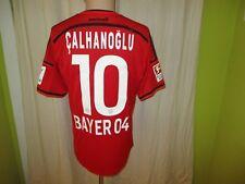 """Bayer 04 Leverkusen Adidas Heim Trikot 2014/15 """"LG"""" + Nr.10 Calhanoglu Gr.M Neu"""